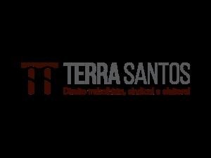 Logomarca Terra e Santos